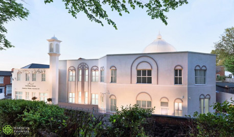 Baitul Muqeet Mosque (House of the All Powerful God) in Walsall, UK